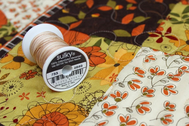 give thanks gingham quilt