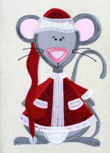 Christmas Father Mouse