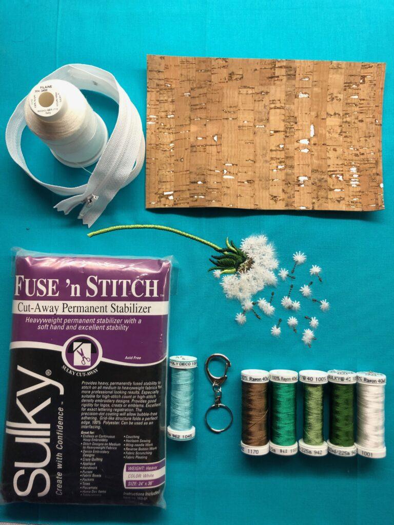 sew a zipper pouch supplies