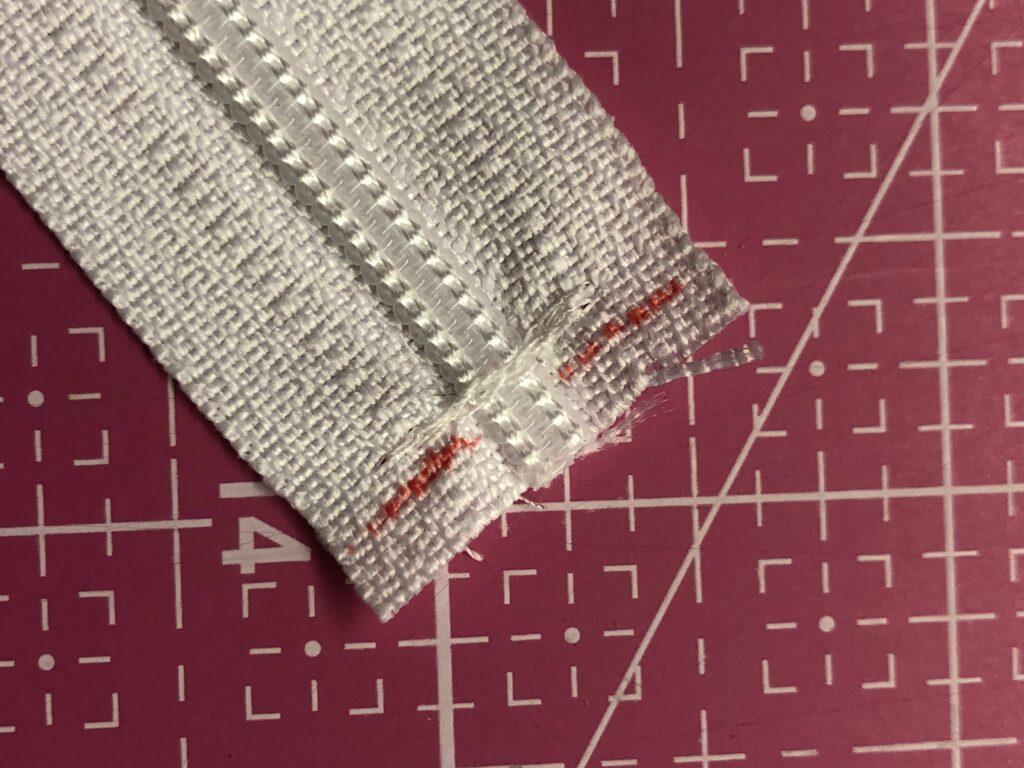 how to shorten a zipper