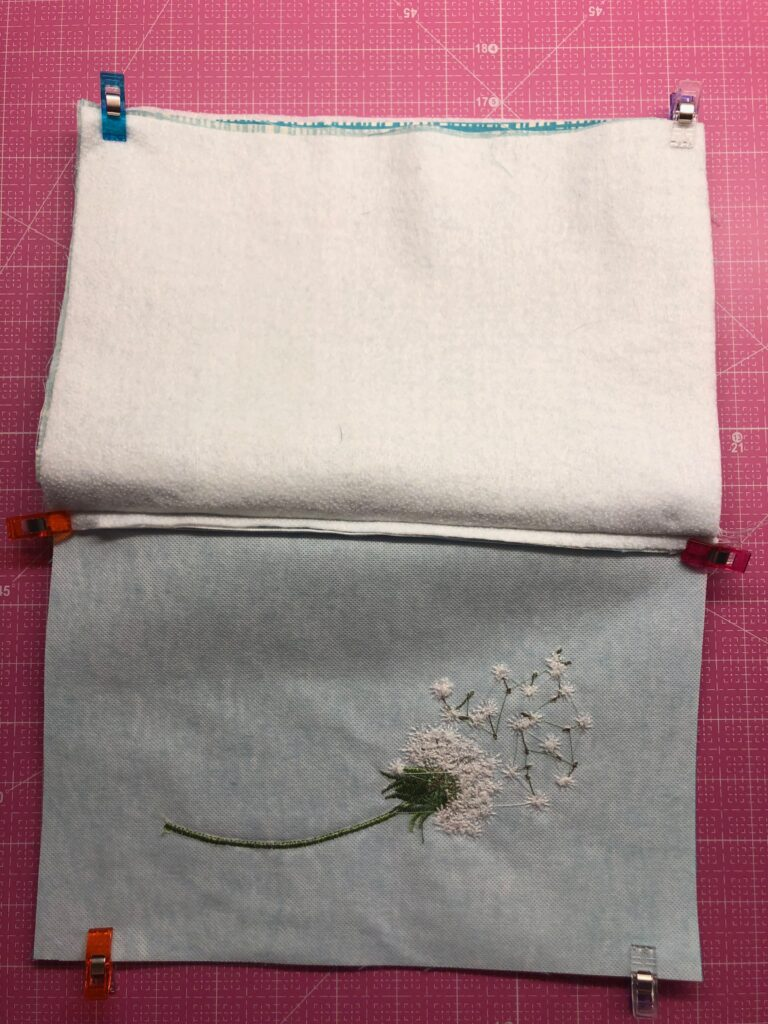 zipper and lining unstitched