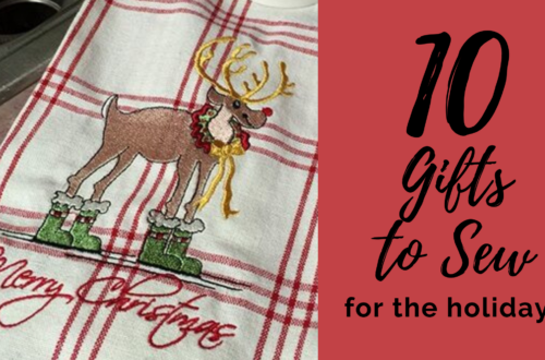 10 gifts to sew