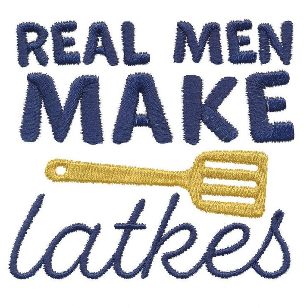 Real Men Make Latkes
