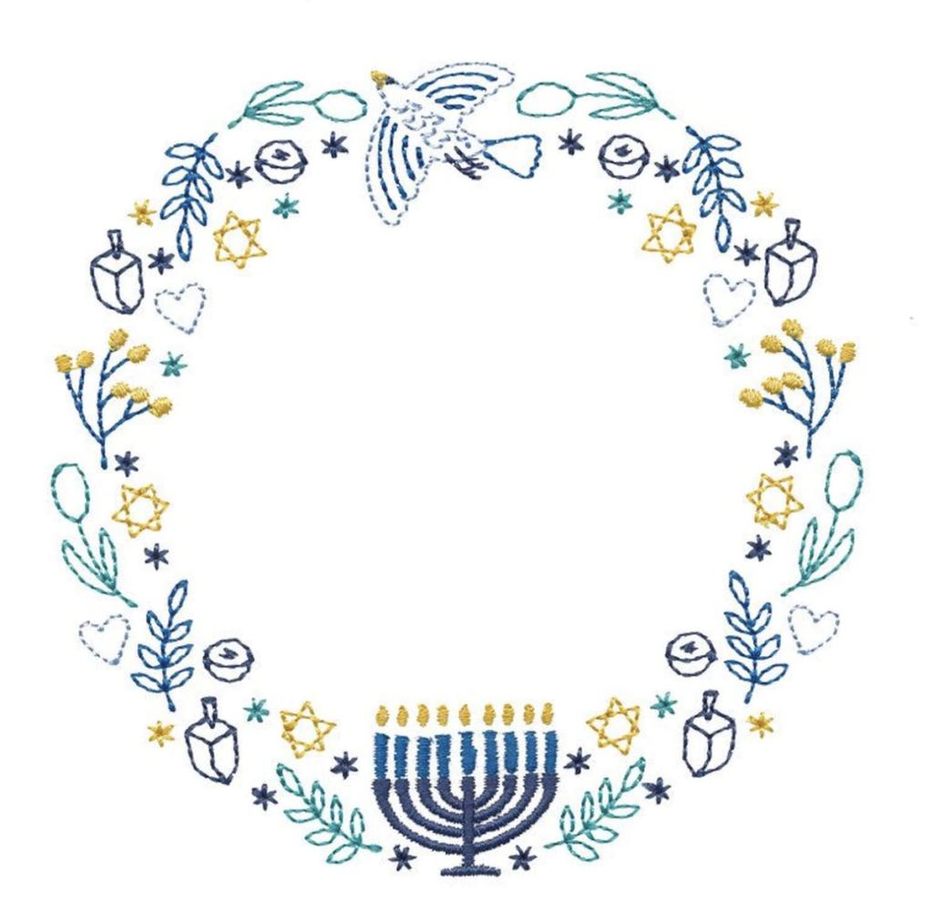 Hanukka Wreath