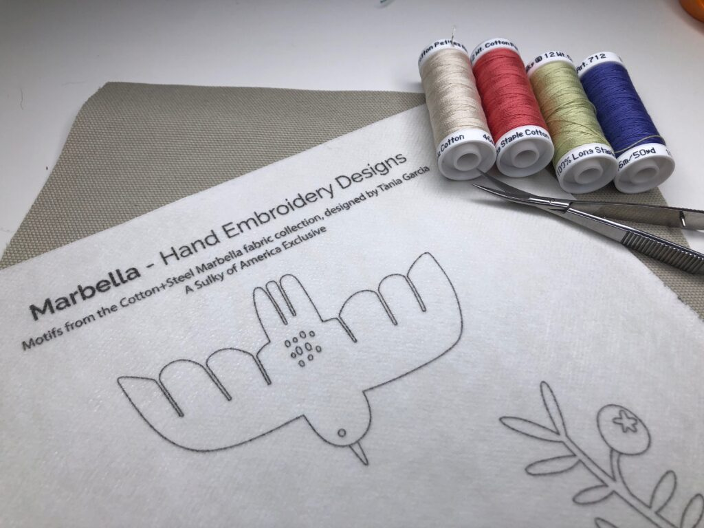 Sew Along Party Hand Embroidery