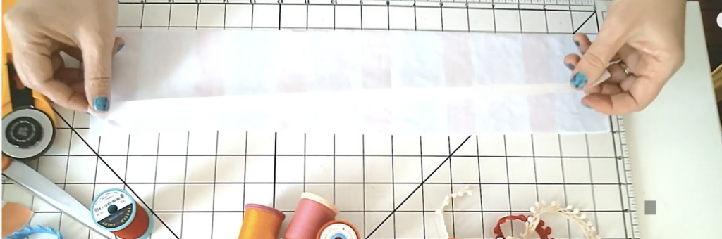 sticky fabri-solvy for sewing stretch fabrics