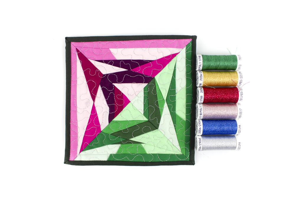 quilting with sparkle