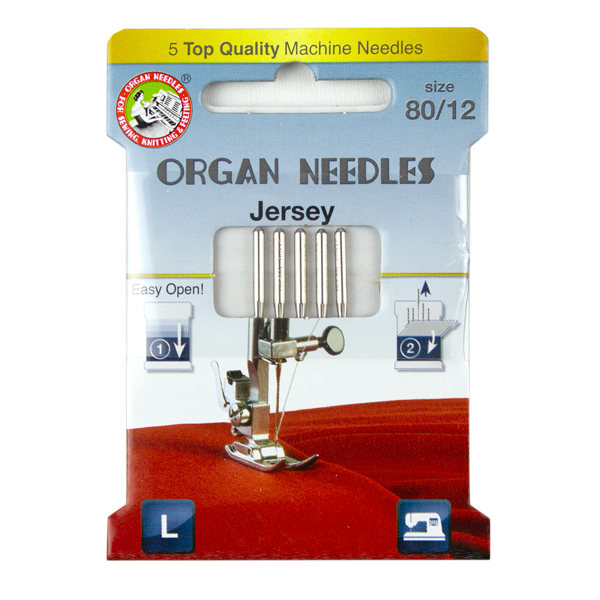 sewing stretch fabrics with jersey needles
