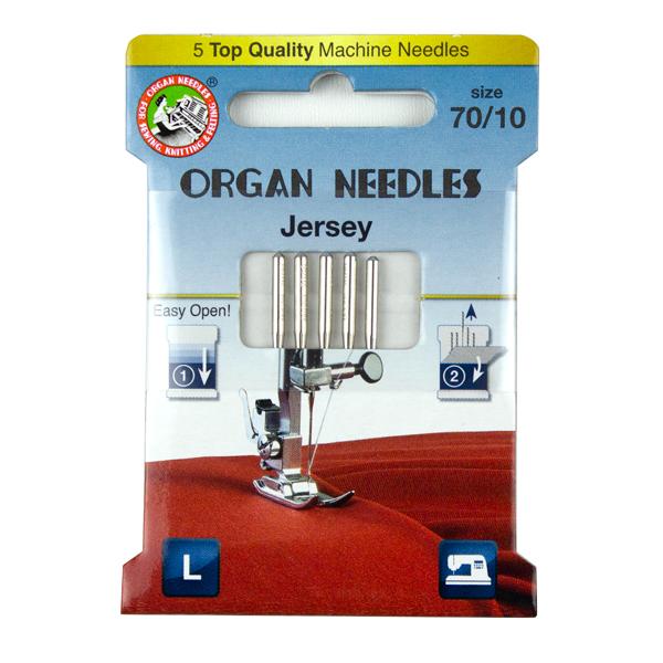 Organ Jersey Needles for Tank Top Construction
