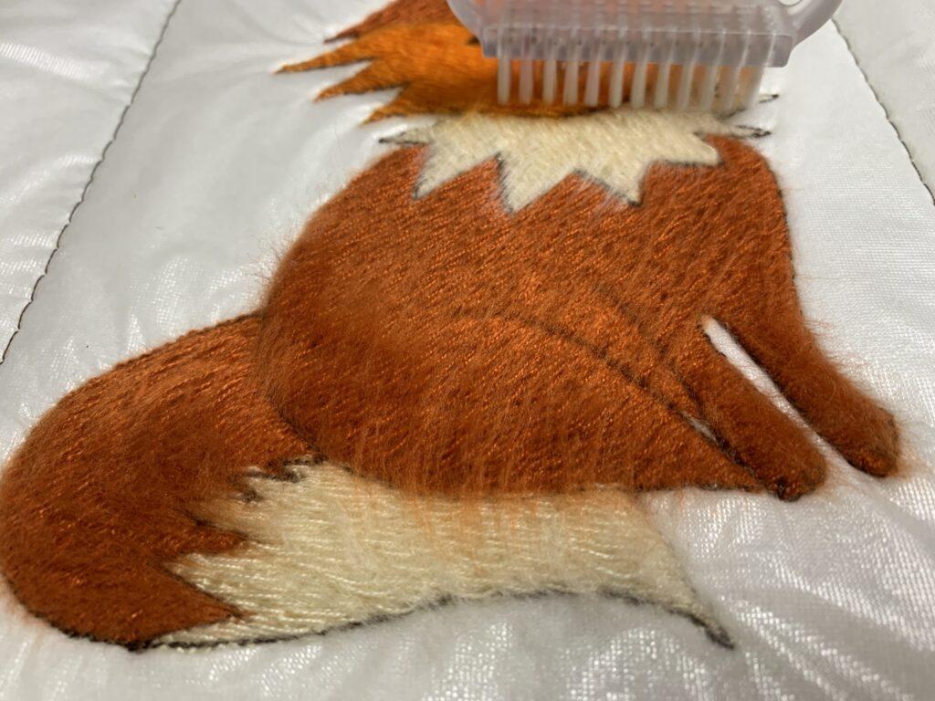 free fox design brushing