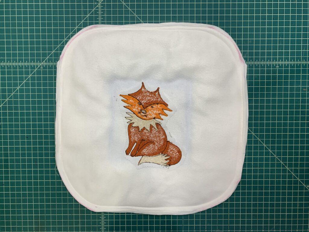 stitch pillow perimeter