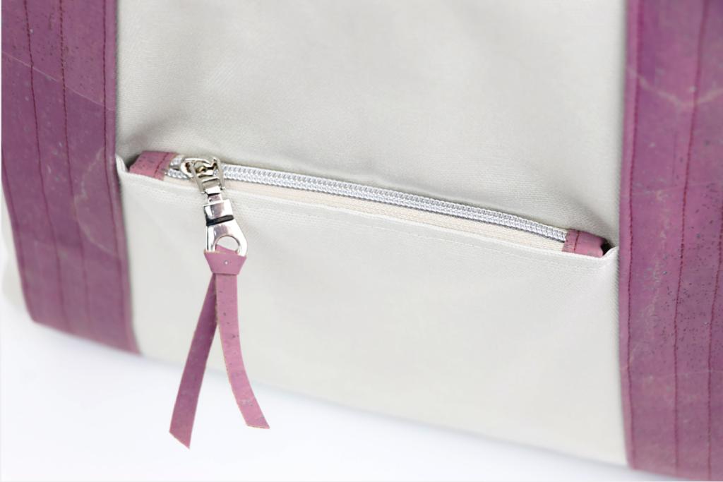 Bonnie Bag zipper detail