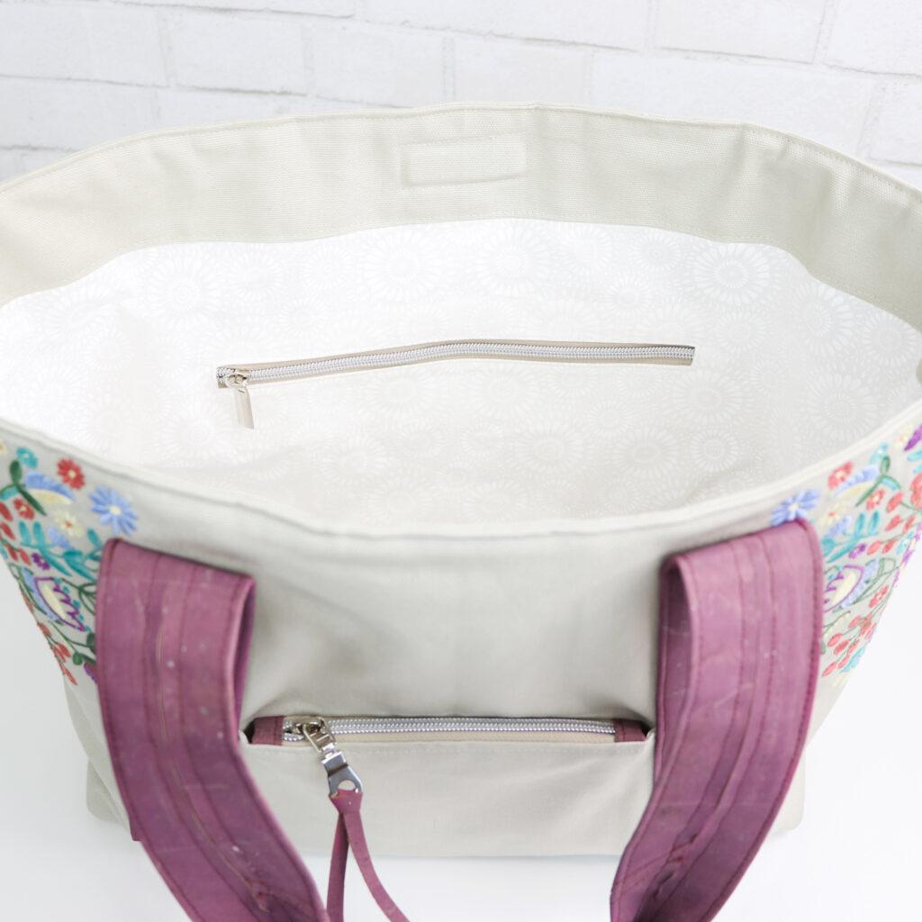 Bonnie Bag interior detail