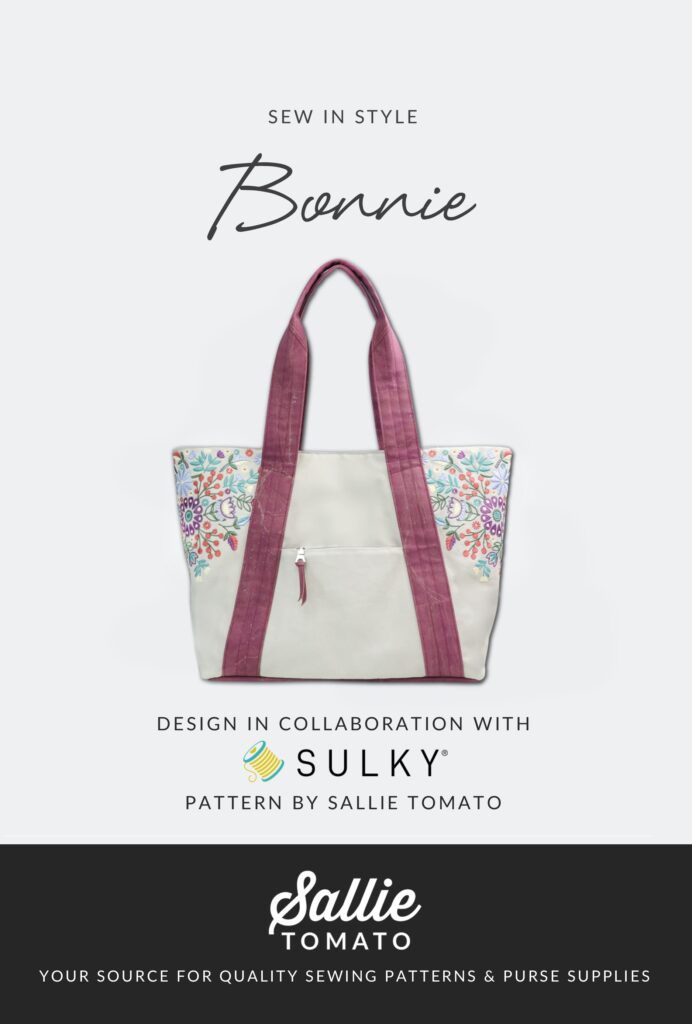 Bonnie Bag pattern cover