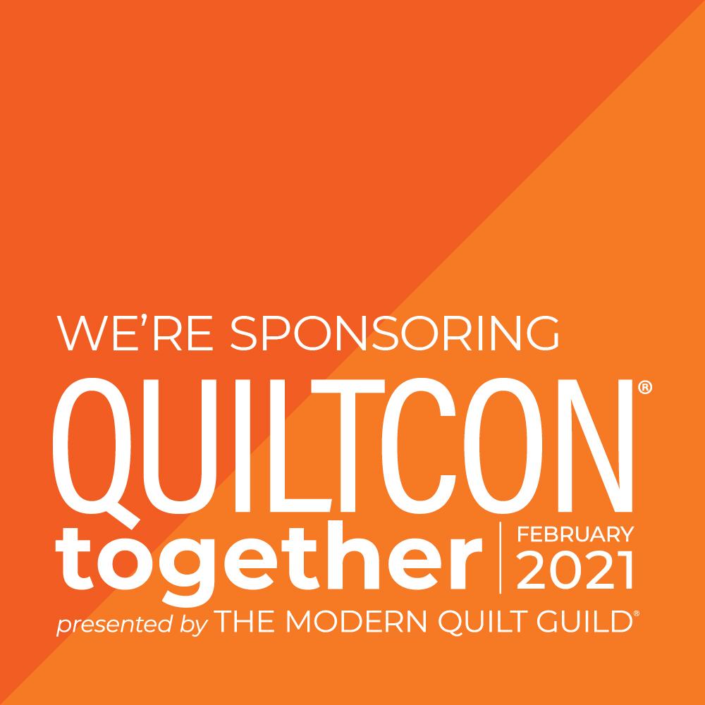 Quiltcon Sponsor Badge