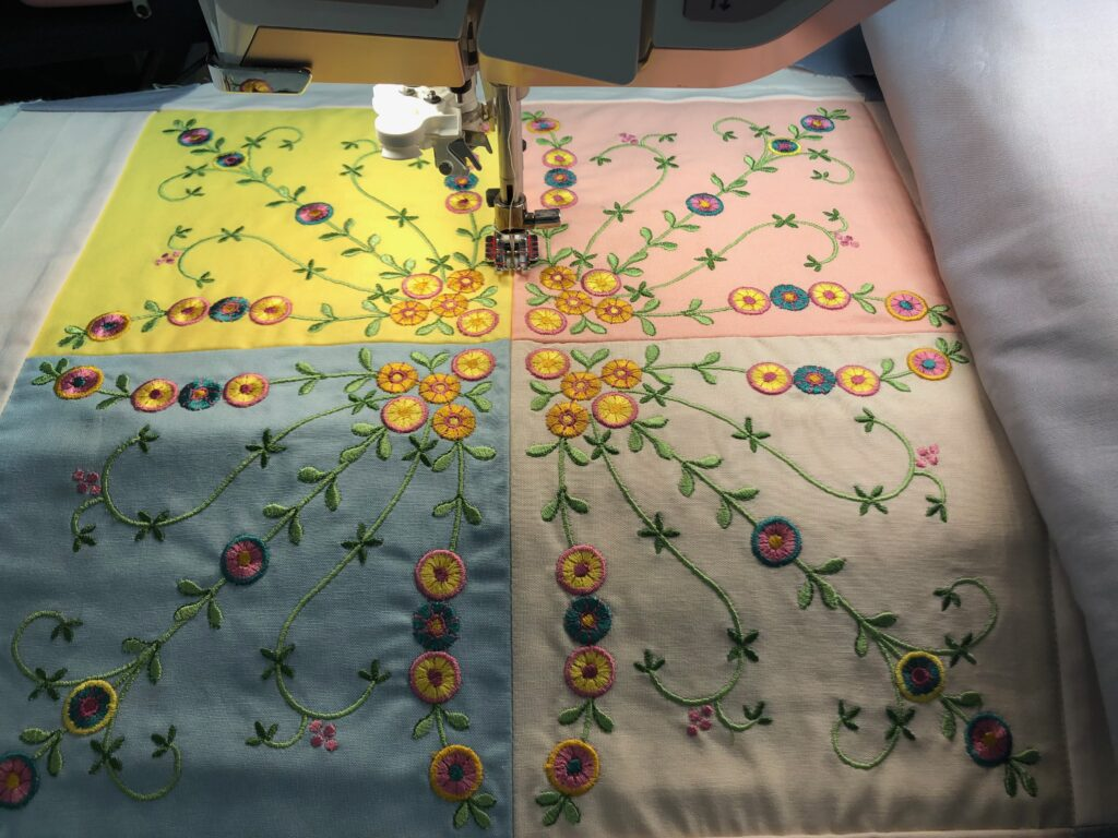 quilting in the ditch