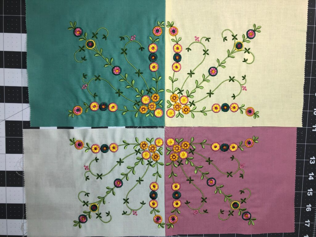 stitching block pairs together