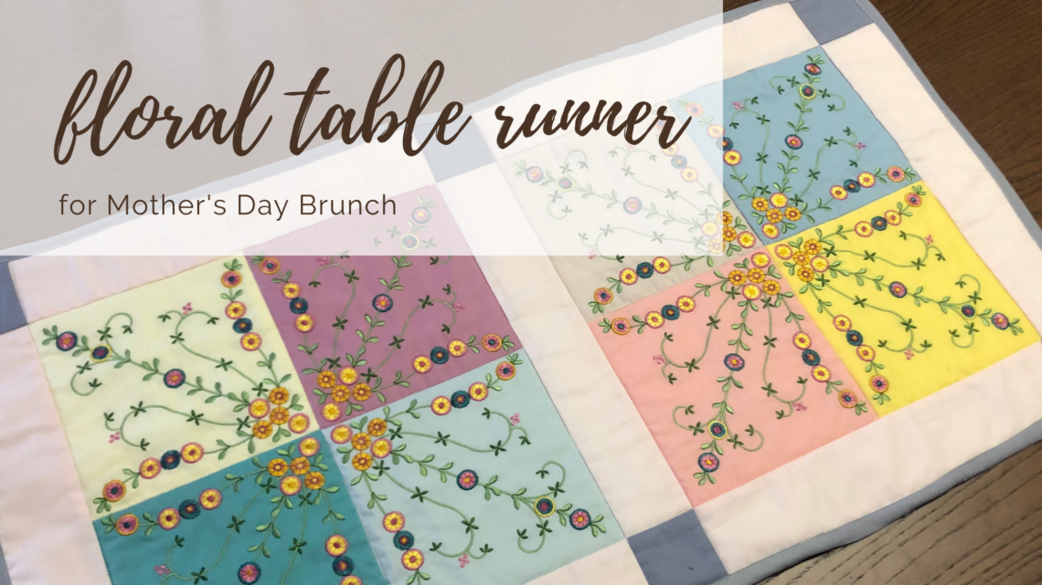 Mother's Day Table Runner