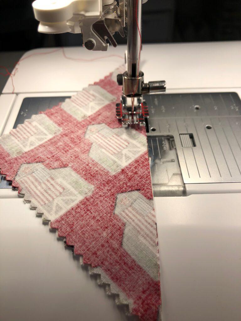 piecing place mat panel