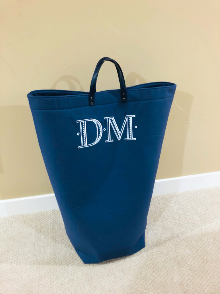 multipurpose bag closed with magnet