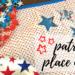 patriotic place mat