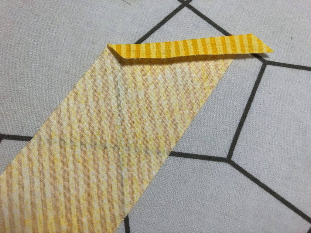 fold binding end