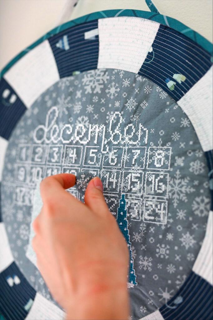moving magnet on calendar
