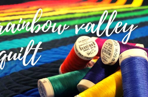 rainbow valley quilt