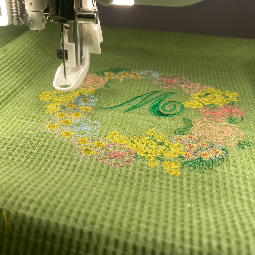 garment sewing embroidery