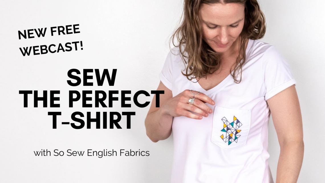 sew a t-shirt