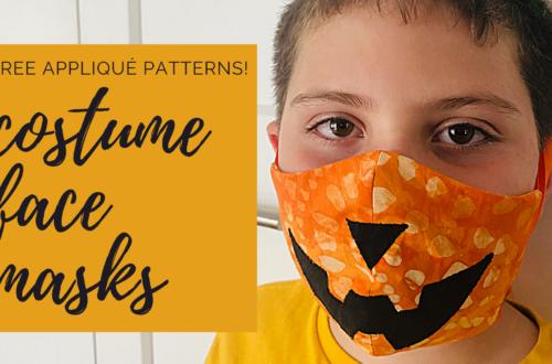 costume face masks