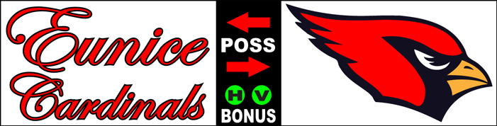 Varsity Scoring Tables | Freestanding & Bleacher Mount Standard or LED Scorer's Tables EUNICE CARDINALS F8 Gallery