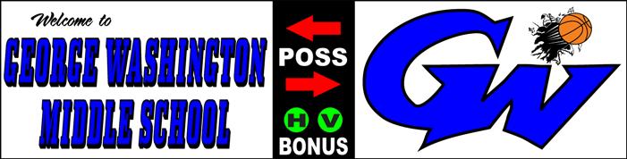 Varsity Scoring Tables | Freestanding & Bleacher Mount Standard or LED Scorer's Tables GEORGE WASHINGTON BLUE DEVILS