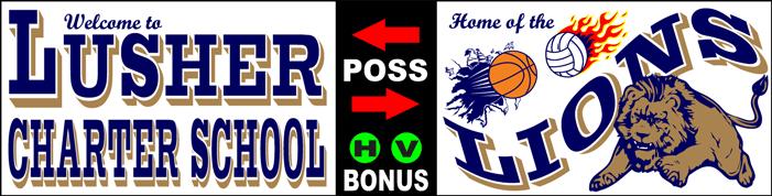 Varsity Scoring Tables   Freestanding & Bleacher Mount Standard or LED Scorer's Tables Lusher Lions