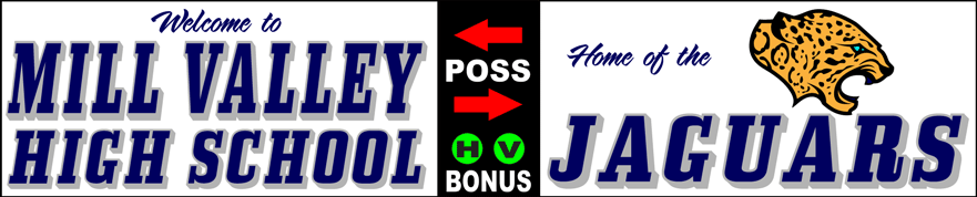 Varsity Scoring Tables   Freestanding & Bleacher Mount Standard or LED Scorer's Tables   MILL JAGUARS F10