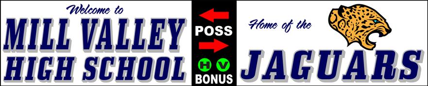 Varsity Scoring Tables | Freestanding & Bleacher Mount Standard or LED Scorer's Tables | MILL JAGUARS F10