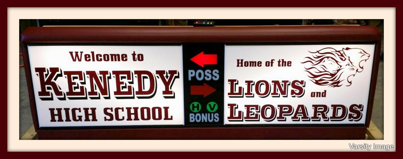 Kennedy High School Scorer's Table | Varsity Scoring Tables