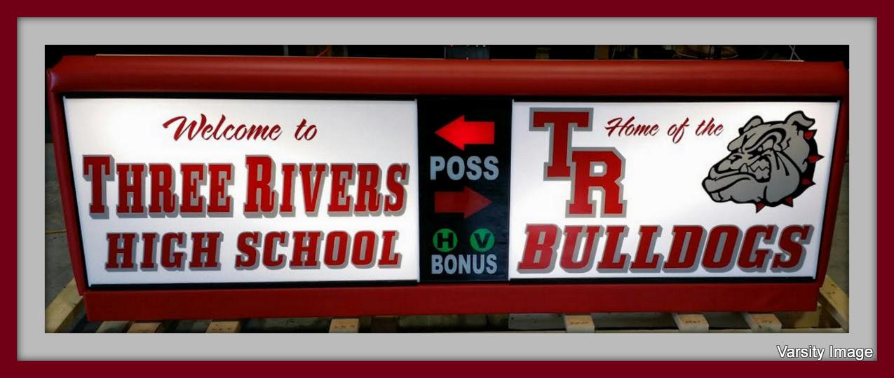 Three Rivers High School Scorer's Table | Varsity Scoring Tables