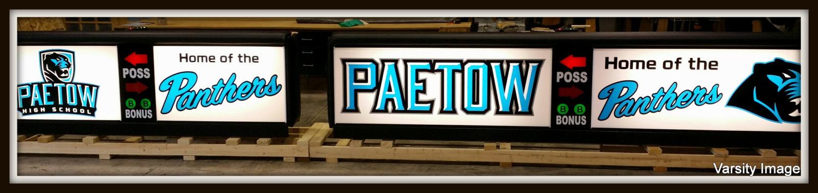 Paetow High School Freestand Scoring Table
