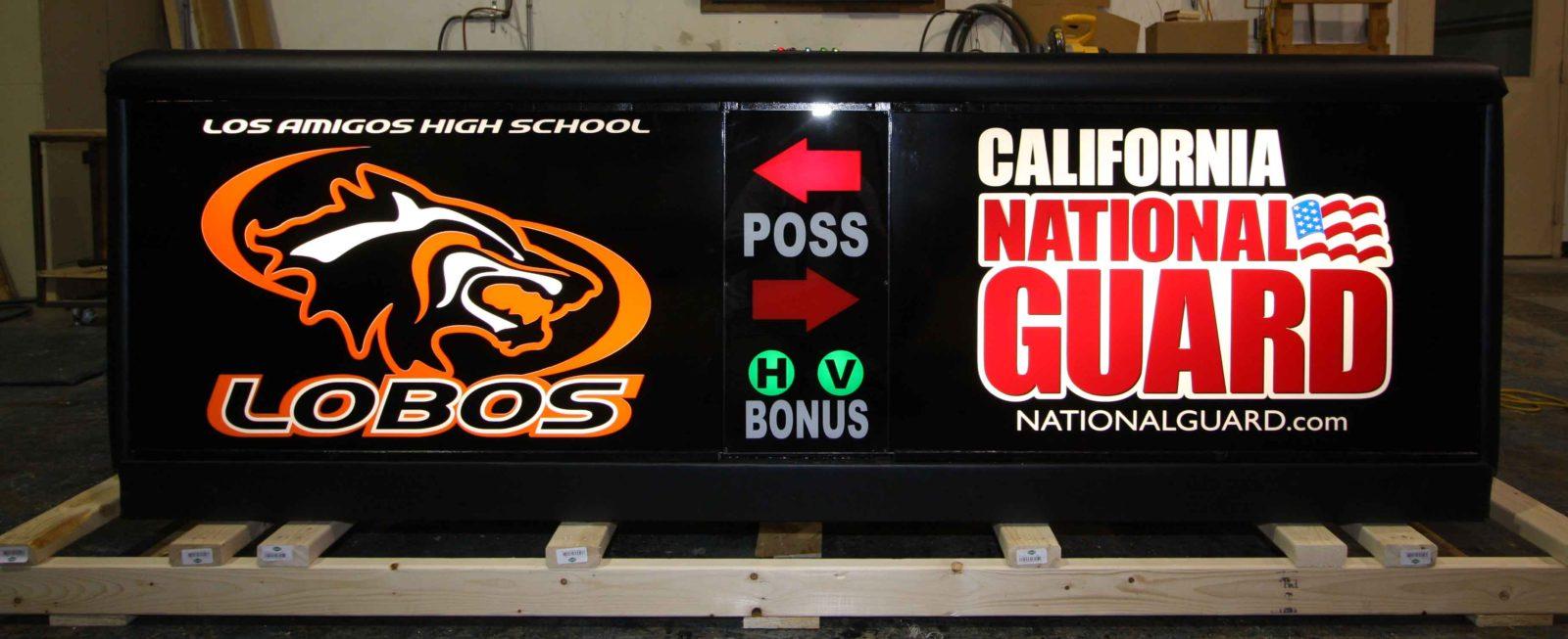 California National Guard Scoring Table