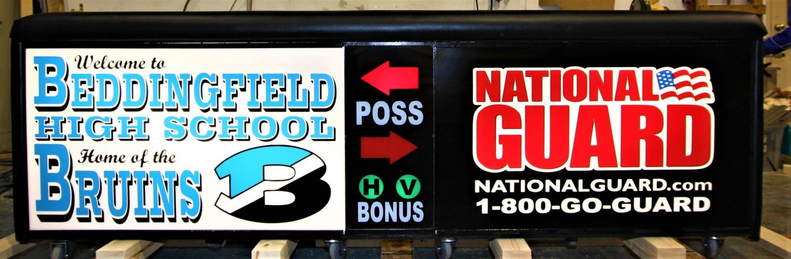 Beddingfield high school scoring table North Carolina Army National Guard NCARNG