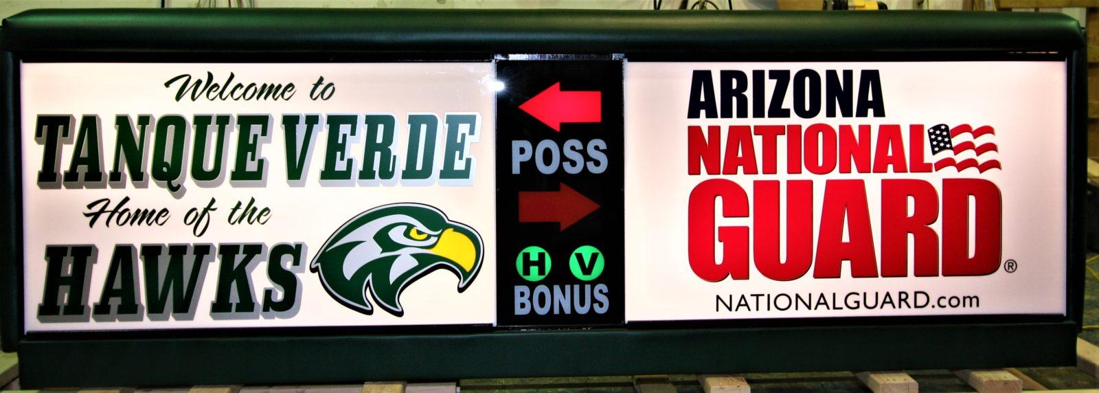 Tanque Verde high school Arizona Army National Guard AZARNG