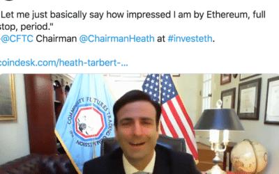 US Regulator CFTC Falls in Love with Ethereum