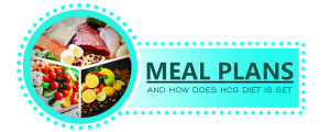 MEAL PLANS AND HOW DOES HCG DIET IS SET