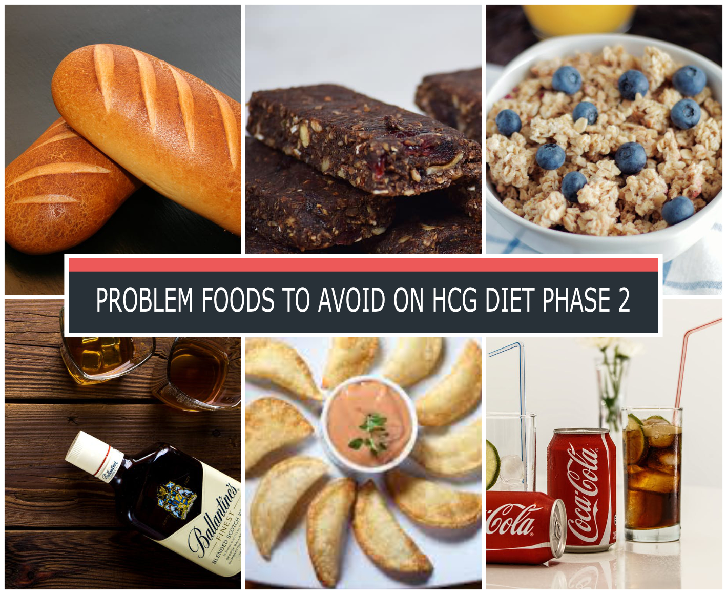 PROBLEM FOODS TO AVOID ON HCG DIET PHASE 2
