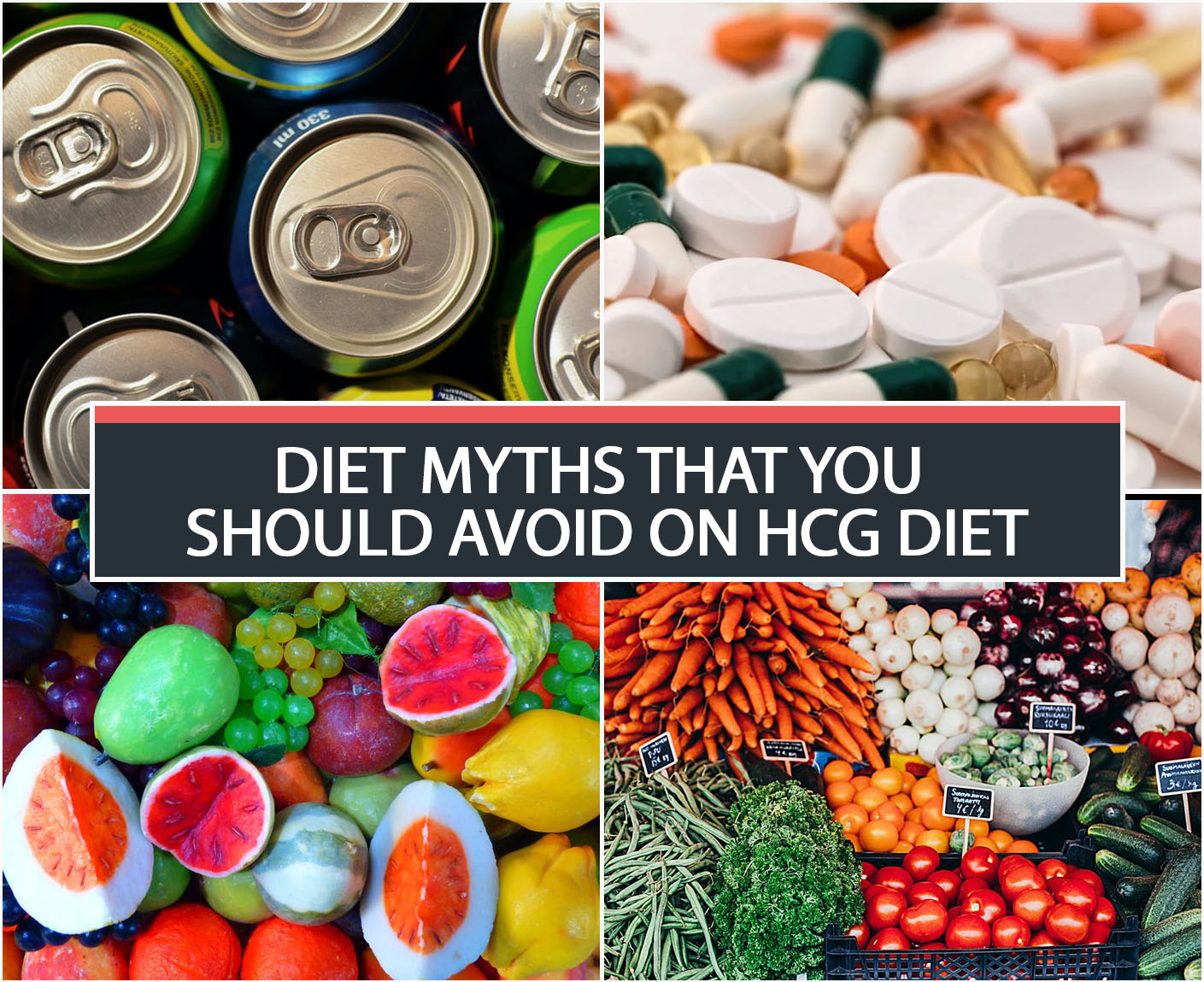 DIET MYTHS THAT YOU SHOULD AVOID ON HCG DIET