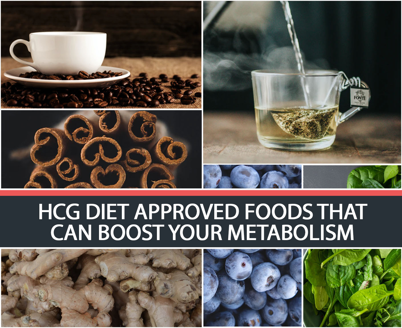 HCG DIET APPROVED FOODS THAT CAN BOOST YOUR METABOLISM
