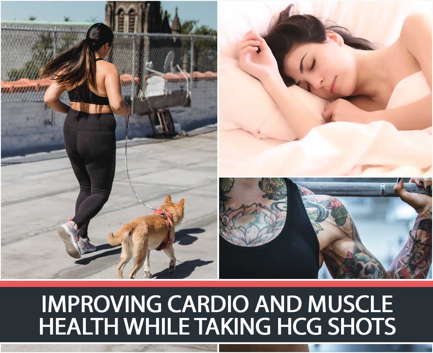 IMPROVING CARDIO AND MUSCLE HEALTH WHILE TAKING HCG SHOTS