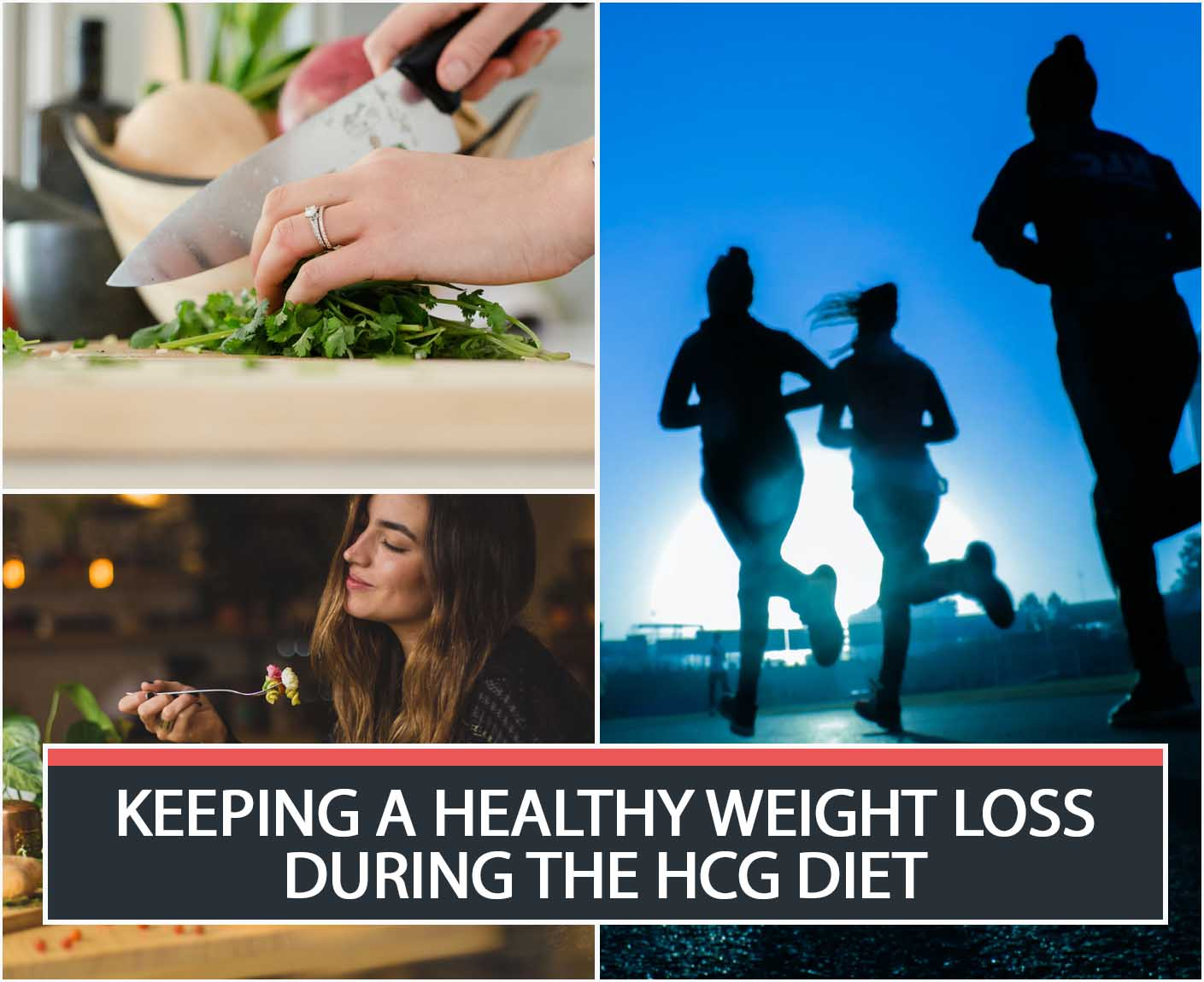 KEEPING A HEALTHY WEIGHT LOSS DURING THE HCG DIET