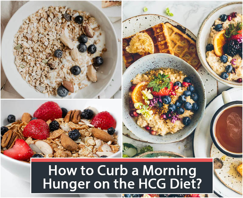 How to Curb a Morning Hunger on the HCG Diet?